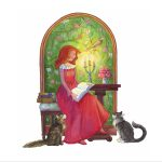 Characters from the fairy tale retold