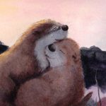 otters,  love, and together