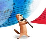 classical music, otters, elementary school, and Talent Show