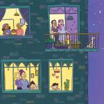 alternative family, building, and At Night