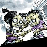 frankenstein, cute monsters, and middle grade
