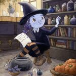 little witch, Halloween, and Magic