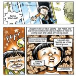graphic novel, magical realism, Asian American, and retro
