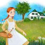 Anne of Green Gables, Environment/Nature, landscapes, and fairy house