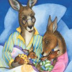 kangaroos, Family, bedtime, Positive Parenting, and cuddle