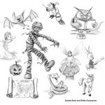 #Children's book and Character sketches
