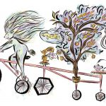 Tandem Bikes, Animals, lion, and imaginary friends