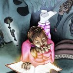 childrens books, Bedtime reading, Picturebooks, and Horror