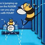 concert, bee, jumping, rhythm, and Counting