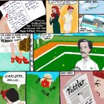 graphic novel, love story, and Comic Book Page