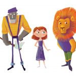 character development, animal character, wizard of oz, lion, and Animals