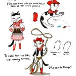 cats, cowgirl, Sketches for cat characters, and anthropomorphic cat