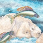 polar bears, Arctic Circle, Children's fantasy, Inuit folk tale, and Dreams