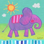 Animals and cute elephant