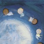 Full Moon, moon, babies, bedtime book, and Multicultural and Diversity