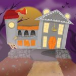 Haunted House, Haunted Mansion, ghost, and Halloween