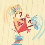 Books and Reading, birds, and reluctant reader