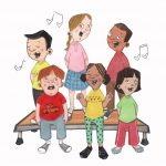 choir, childrens humor, and childrens picture book