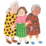 elderly, childrens humor, and childrens picture book
