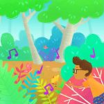 children's Hawaii, tortoise, guitar, A Children's Nature Picture Book, and  colorful