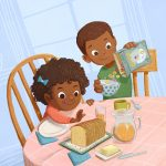 Family Life, African American, and breakfast