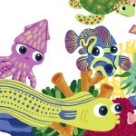 sharks, sea creatures, Losing Teeth, missing tooth,   growing up, and children's picture book