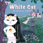 book cover, #cat, and Characters from the fairy tale retold