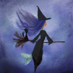 sea witch, children's books mermaid, mermaid, mermaids, Halloween picture book, Halloween Story, Halloween Parade, and Little Witch's Halloween Ride