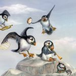 puffins, baby, and and making music.