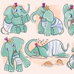 adorable elephant, Baby Elephant, and A Children's Nature Picture Book