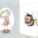 bee, Bumblebee, field mouse, sad, and Friendship