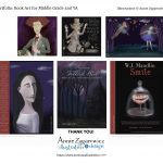 Portfolio art, young adult, and book covers