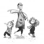 alternate Family and dancing