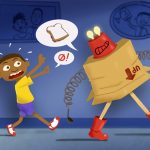 Robot, Scifi, African American boy, Young Boy, and inventor