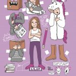 paper doll and preteen