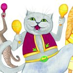 cats, Shakers, rhythm, and Wheels on the Bus