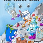 graphic novel, #Children's book, Creative Recycling, and Reduce Waste Reuse Things Recycle