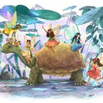 Fairies, multicultural, friends, and Turtle