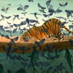 Life of pi, Tiger, lifeboats, and boy in boat