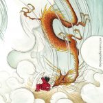 Dragon Adventure, chinese dragon, Kung Fu, and  girl heroes