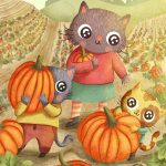 pumpkin patch and Cats