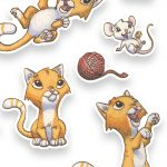 Cats, #mouse, and stickers