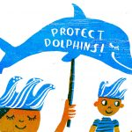 dolphins, Environmental Protests, and marine ecology