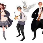 Characters from the fairy tale retold, children book, and Picturebook