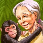 Biography, scientist, and chimpanzee
