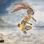 Bunny, By the lake, and jump