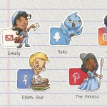 stickers and Social Media