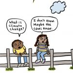 nonfiction, climate change, Cows, and  comic