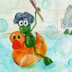 frog and Rubber Ducky