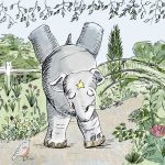 elephant, cute elephant, adorable elephant, funny, funny animal character, and funny animals